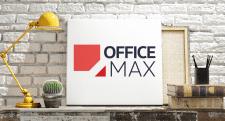 Логотип канцелярской компании «OfficeMax»