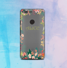 Мокап чехла Google Pixel case mock-up