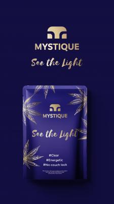 MYSTIQUE logo+package