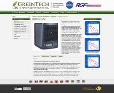 Официальный сайт компании GreenTech (представитель