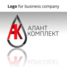 Дизайн лого для фирмы Алант Комплект