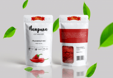 Дизайн упаковки специй - паприка