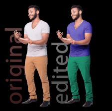 Вырезка фона/Изменение цвета