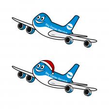 Літачок в мультяшному стилі
