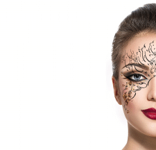 Face Art for Mobile Application (увеличение)