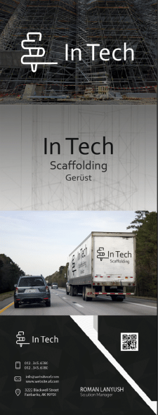 Логотип для In Tech