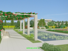 Обустройство и озеленение