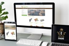 Сайт-каталог по продаже тротуарной плитки