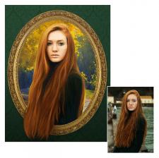Замена фона, художественная обработка фото