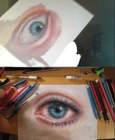 Глаз в фотореализме