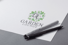 логотип для Garden Lounge