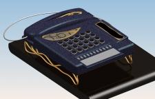 Телефон(с элементами стим-панк)
