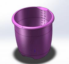 Моделирование детали Dедро  в программе SolidWorks