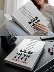 "Обложка книги ""Music Book"""