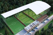 3д Визуализация футбольного поля