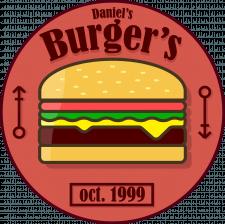 """Логотип """"Daniels Burgers"""""""