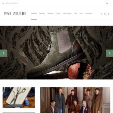 Разработка сайта для магазина «Pal Zileri»