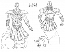 lks'Arl (concept-art for my own comic)