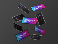 "Business cards for the brand ""Faino Zhiti"""