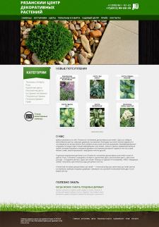Сайд садовых растений