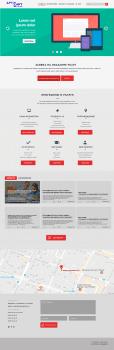 ArtSoft | Макет сайта для компании