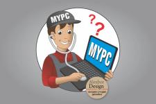Логотип ремонт электроники