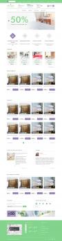 Дизайн шаблона интернет магазина