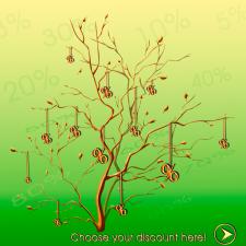 Стартовая страница сайта скидок, флаеров и т.д. Discount