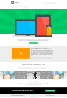 Верстка сайта и посадка на Wordpress