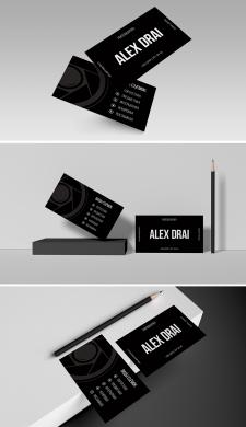 Персональная визитка для фотографа