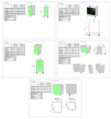 Кухня Нижние блоки