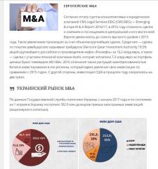 Аналит. копирайт + инфографика для юр. портала