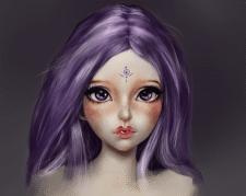 Рисунок куклы