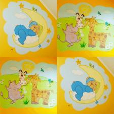 Роспись стен детской комнаты