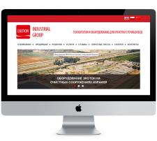 Сайт EKOTON Industrial Group