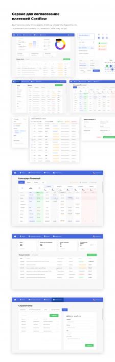 Сервис для согласование платежей Costflow