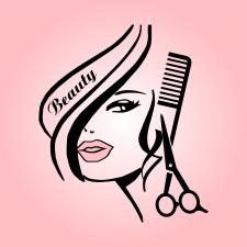 Beauty woman face vector