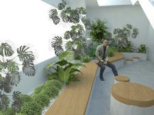 Проект озеленения интерьера библиотеки