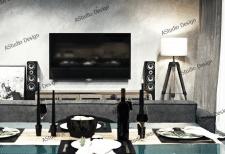 Гостиная (вид на зону отдыха+TV)