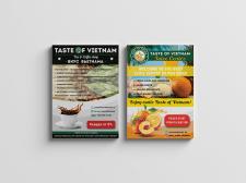 Флаера для Taste of Vietnam