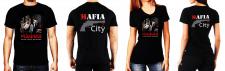 Принт на футболках Мафия