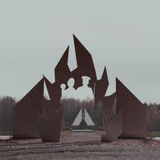 Создание входной группы в мемориальный комплекс