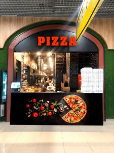 Стойка пицца