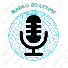 Логотип для радиостанции (США)