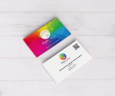 Дизайн визитки от Sun-Vik #SunVikDESIGN