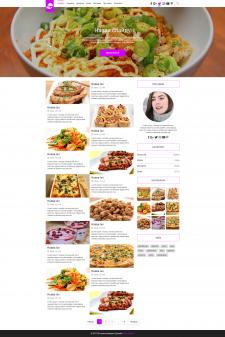 Блоґ на тему кулінарії