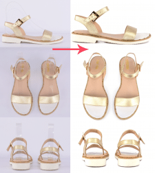 Обтравка, ретушь, цветокоррекция обуви