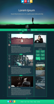 Wp-theme-Blog