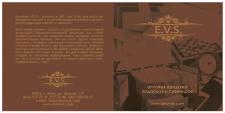 Разработка дизайна обложки CD EVS