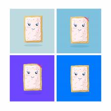 Илюстрация для упаковки- pop tarts